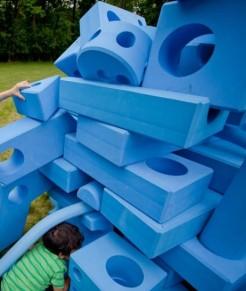 Assembled blocks