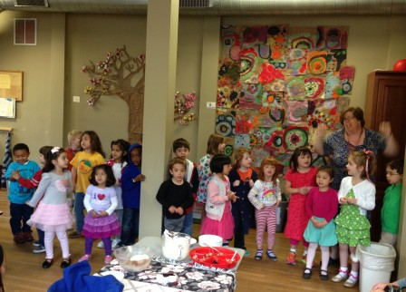 Pear Tree Mother's Day performance