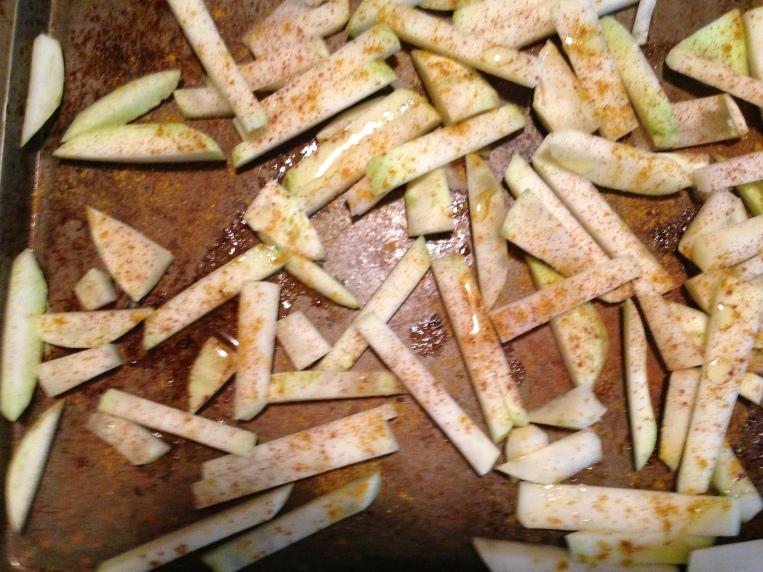 Add cinnamon and cumin--delicious!