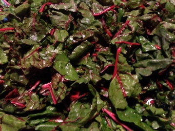 Mountains of chard
