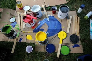 The materials. Photo credit: Brian Schneider, www.ebrianschneider.com
