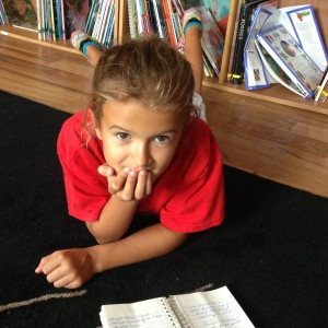 Grace was very impressed by the number of pages we generated during our interview. We could have chatted for hours!