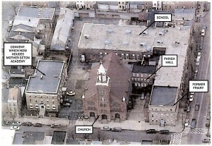 Aerial view of the corner of Ann and Aliceanna streets, circa 2006