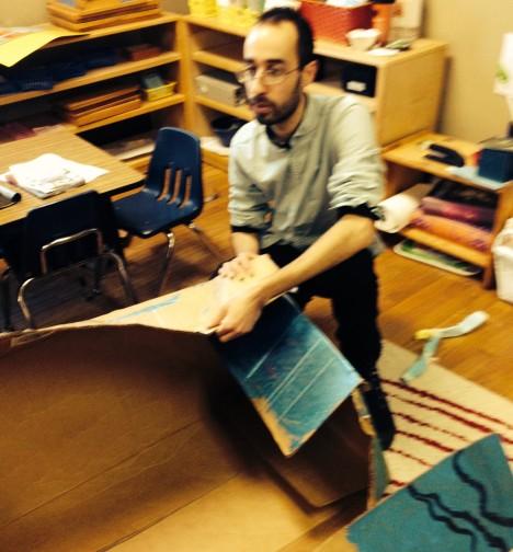 Mr. Shalom helps resurrect a battered spacecraft.