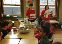 Our Chinese teachers launched our exploration of Chinese culture with some vocabulary lessons!