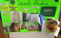 First-graders got a comprehensive look at this fascinating country in the Middle East.