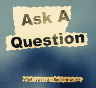 What flows faster, liquid or solid?