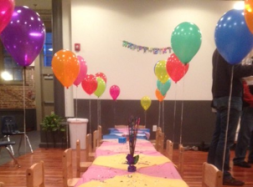 Let TLL decorate and set up your party, or feel free to bring your own decorations!