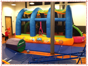 Everyone's favorite---the Moon Bounce!