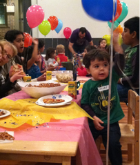 TLL can accommodate a few kids or many; the guest list is up to you!