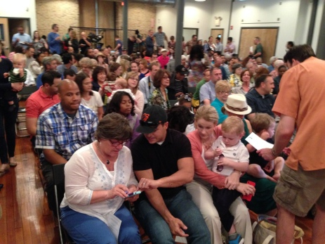 TNCS's Spring Concert packed the house! SRO!