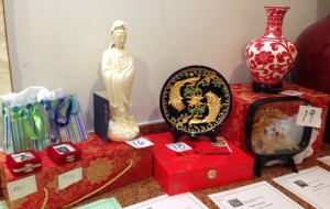 Chinese goods collected by the BXSSC during many years' travel between Baltimore and Xiamen were placed up for bid.