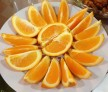 Oranges for dessert---tiándiǎn!