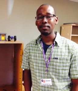 Chretien Mayes, aerospace engineer and Play-Well TEKnologies instructor.