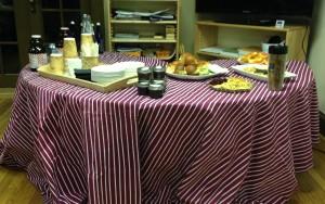 Refreshments were thoughtfully provided by Chef Emma Novashinski.