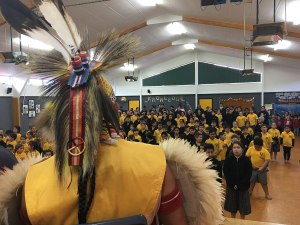 Powhiri_at_NZ_Primary_School