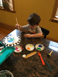 9_40 am Paint flower with Song Lao Shi (Mar 24, 2020 at 10_40 AM)